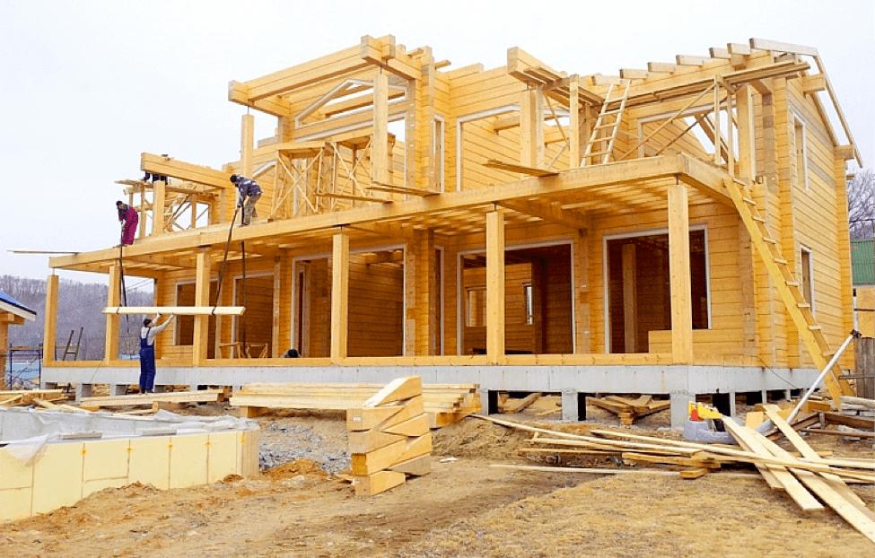 Строительство дома своими руками под ключ из бруса 4