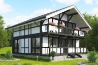 Проект Фахверкового дома Ф-185