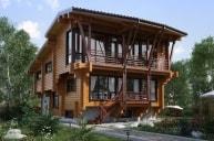 Проект индивидуальный дом ИП-330 5 уровней