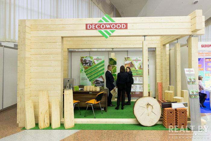 DECO WOOD на строительной выставке
