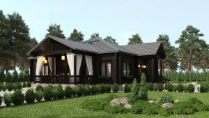 Одноэтажный дом. Строительство
