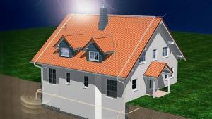 Установка громоотвода в деревянных домах