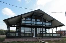 Построеный дом по проекту Ф-275
