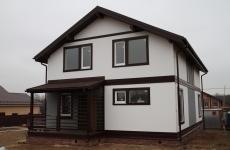Готовый дом по проекту ПБ-165