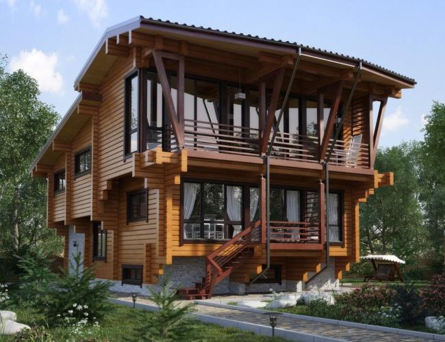 Проект индивидуальный дом ИП-330