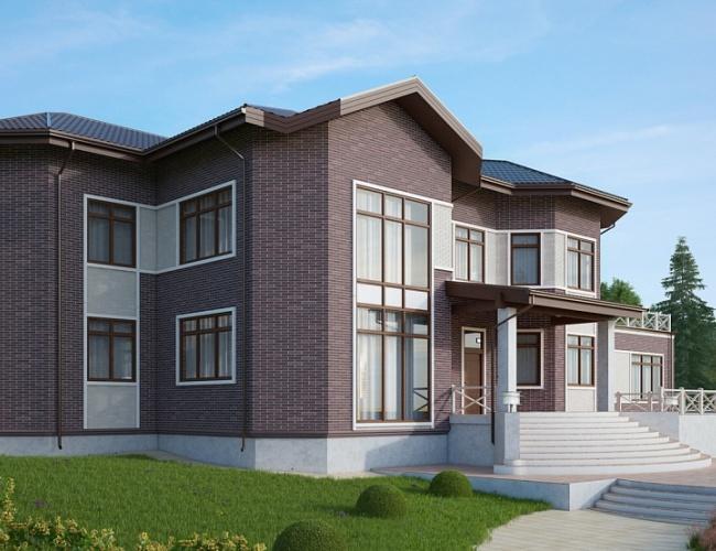 Индивидуальный дом 1152 кв.м.