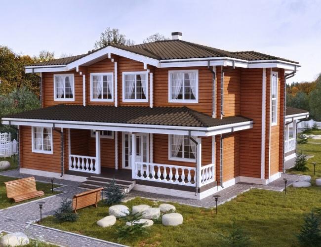 Индивидуальный дом 381 кв.м.