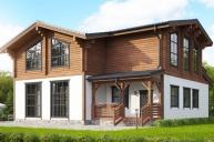 Проект комбинированного дома КД-511