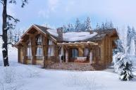 Индивидуальный проект одноэтажного дома 222 м2