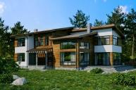 Индивидуальный дом 455 м²