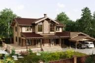 Индивидуальный дом 458 м²