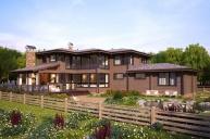 Индивидуальный дом 346 м²