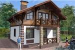 Проект каркасного дома КК-145