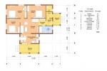Проект одноэтажного каркасного дома КК-118