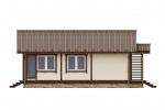 Проект одноэтажного дома ПБ-100
