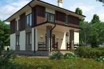Проект кирпичного дома KV-205
