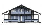 Проект фахверкового дома Ф-275
