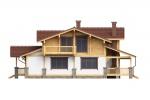 Проект комбинированного дома КД-350