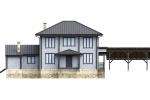 Проект эксклюзивного дома из бруса 325 м2