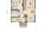 Проект Фахверкового дома Ф-149