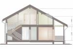Проект дома из клееного бруса СП-180