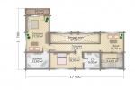 Индивидуальный дом 437 кв м.