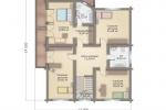 Комбинированный дом шале 268 кв.м.