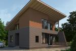 Проект кирпичного дома KV-261