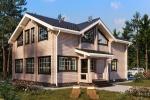 Проект индивидуального дома 243 кв.м.