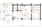 Одноэтажный дом 97 м2