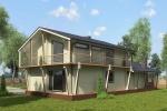 Индивидуальный одноэтажный дом 237 кв.м.