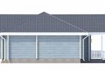 Одноэтажный дом ИП-127