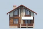 Проект каркасного дома КК-127, 9х7 м
