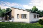 Проект панельно брусового дома ПБ-247