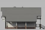 Проект дома из клееного бруса КБ-186