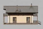 Проект комбинированного дома шале КД-193